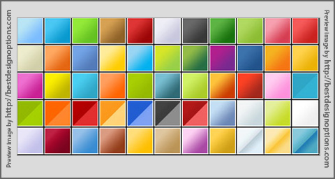 Verbaska Web 2.0 Photoshop Gradients