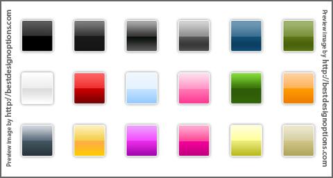Yoshi Web 2.0 Photoshop Gradients